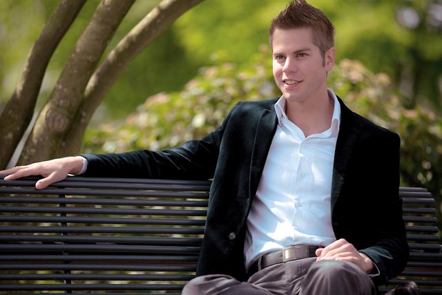 Gay blogger, Brian Webb