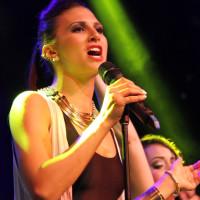 Kristina Maria performing at World Pride 2014a