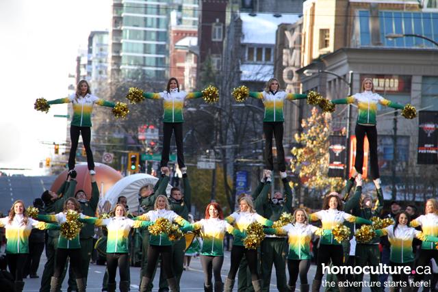 2014 Grey Cup parade in Vancouver, BC