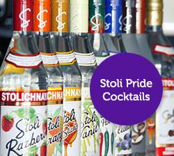 Stoli Pride Cocktails
