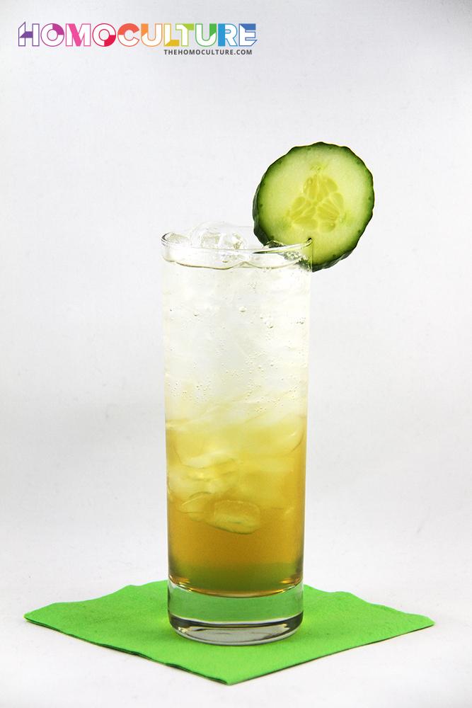 Cucumber Tom Collins