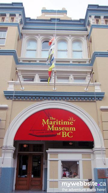 The BC Maritime Museum in Victoria, BC