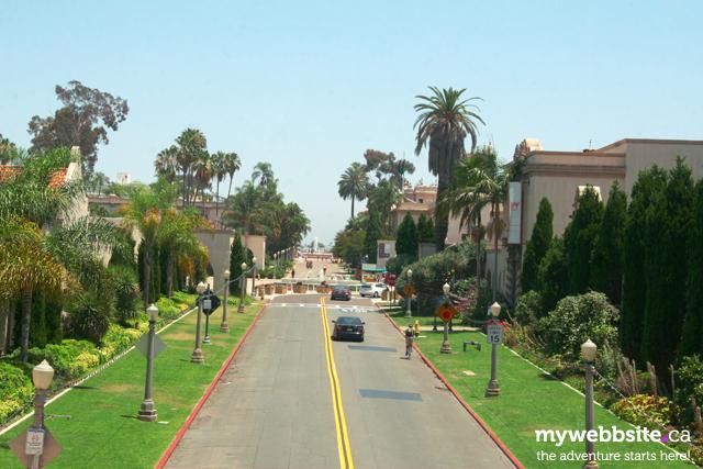 Belboa Park in San Diego