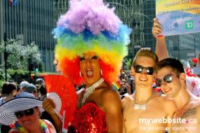 Fiertre Montreal Pride Parade 2013