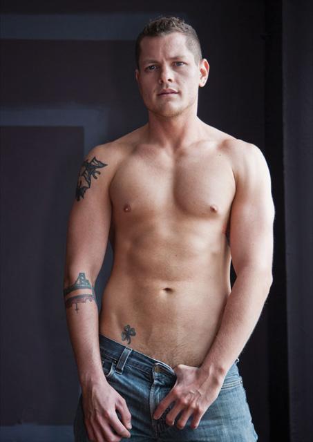 Gay porn star, Blue Bailey