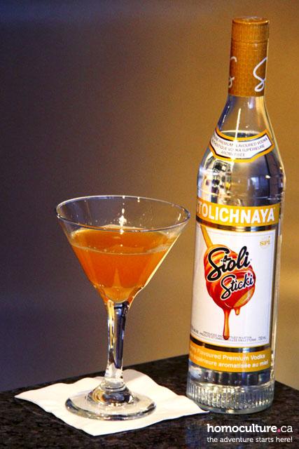 Sensational Sunshine Martini