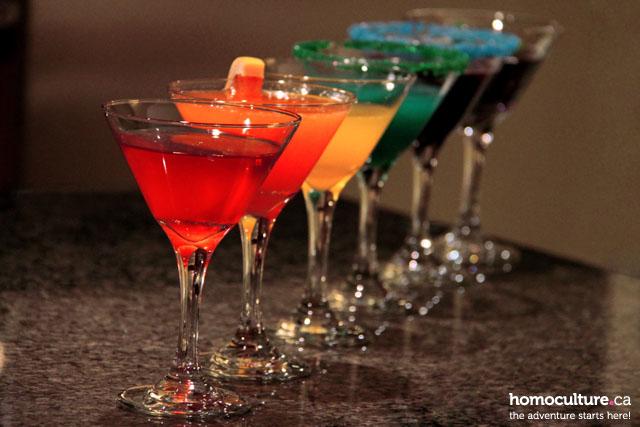 A rainbow of Stoli vodka cocktails