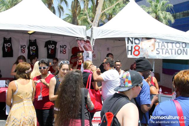 NOH8 at LA Pride Festival 2014