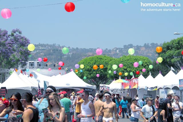 LA Pride Festival 2014