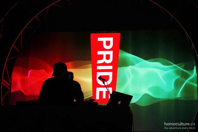 LA Pride Festival 2014 main stage
