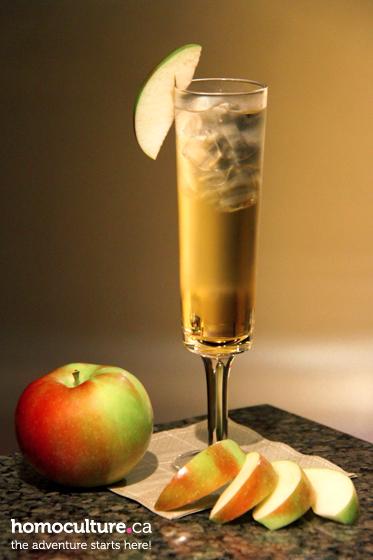 Autumn Apple Cocktail