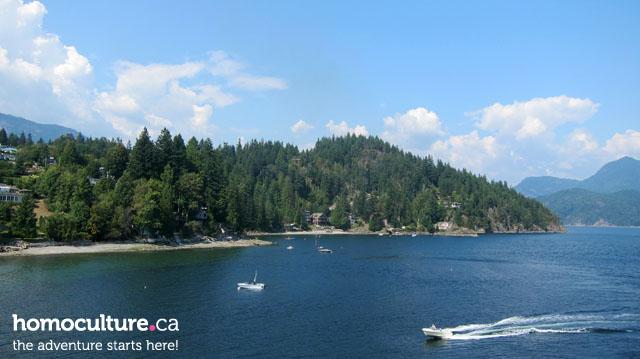Gibsons, British Columbia, on the Sunshine Coast