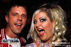Mr Pam and Jake Shears of the Scissor Sisters at HustlaBall Las Vegas