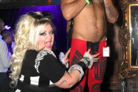 Mr Pam and Leo Forte at HustlaBall Las Vegas main event.