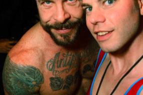 Rocco Steele and Brian Webb at HustlaBall Las Vegas main event