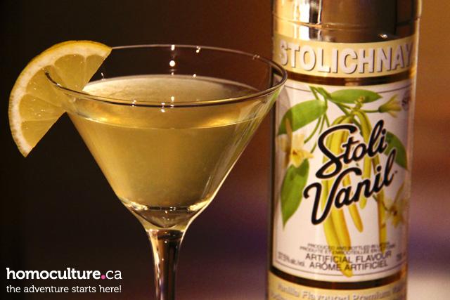 Stoli Pride cocktail - YELLOW (Sunlight)
