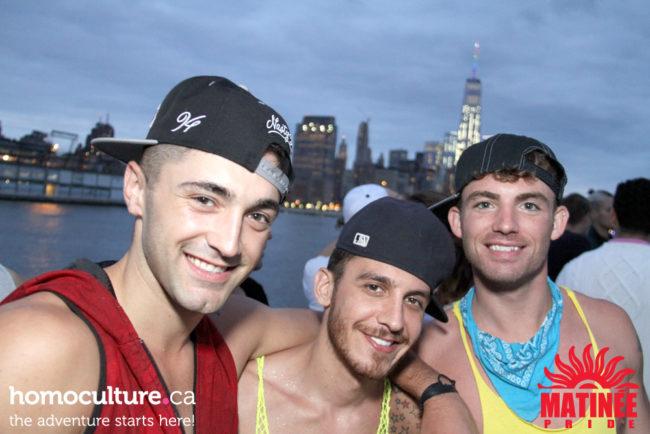 Matinee Pride Yacht cruise 2015 New York Pride