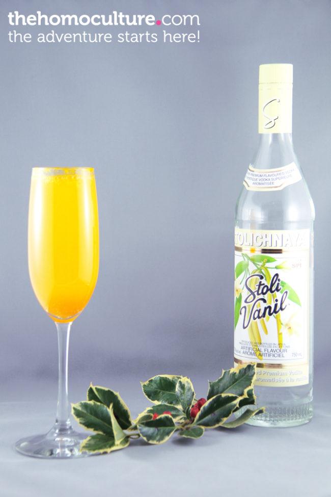 Stoli Merry Christmas Mimosa
