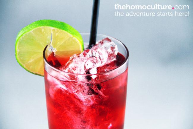 Calorie-counting vodka-cran