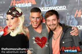 HustlaBall Las Vegas 2016 - Chi Chi Larue, Brian Webb, and DJ Phoenix