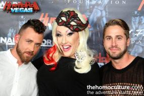 HustlaBall Las Vegas 2016 - Logan Moore, Chi Chi Larue and Wesley Woods