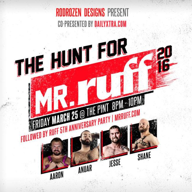 Hunt for Mr Ruff 2016