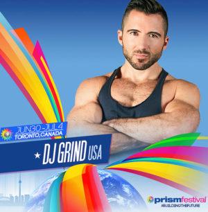 DJ Grind Prism Festival