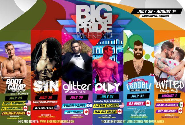 Big Roger brings big events to Vancouver Pride
