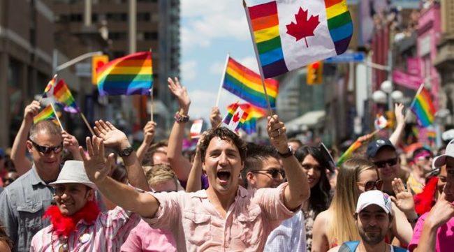 Prime Minster Justin Trudeau Toronto Pride