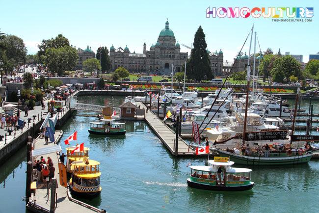 Victoria, B.C. inner harbour.