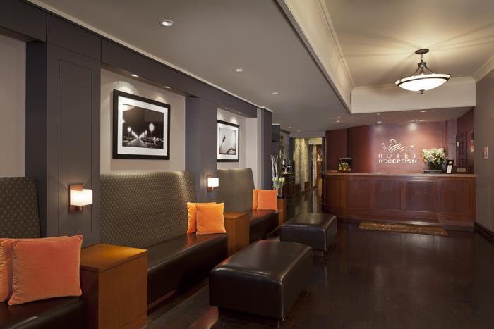 Hotel Griffon reception