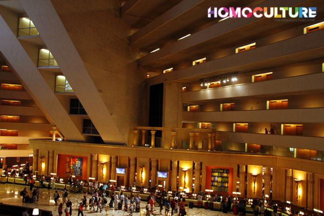The Luxor Hotel and Casino Resort in Las Vegas