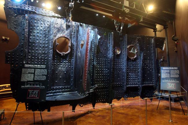 The Big Piece at the Titanic exhibit at the Luxor Hotel in Las Vegas