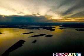 Evening HeliJet flight from Victoria, BC