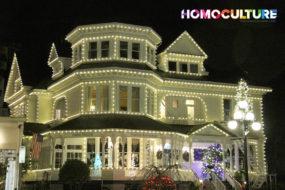 Victoria BC at Christmas.