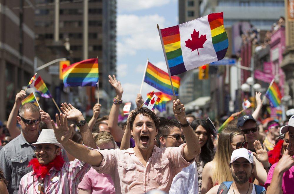 Prime Minister Justin Trudeau Toronto Pride parade