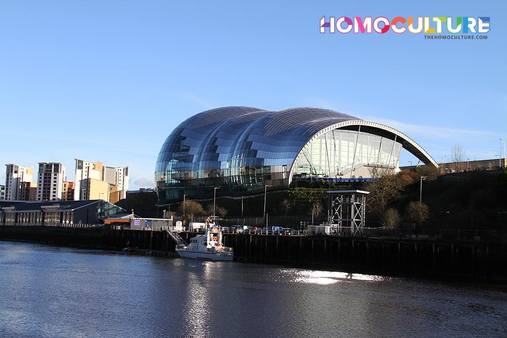 Newcastle U.K. The land of the Geordie's