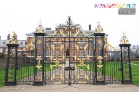 The gates of Kensington Palace