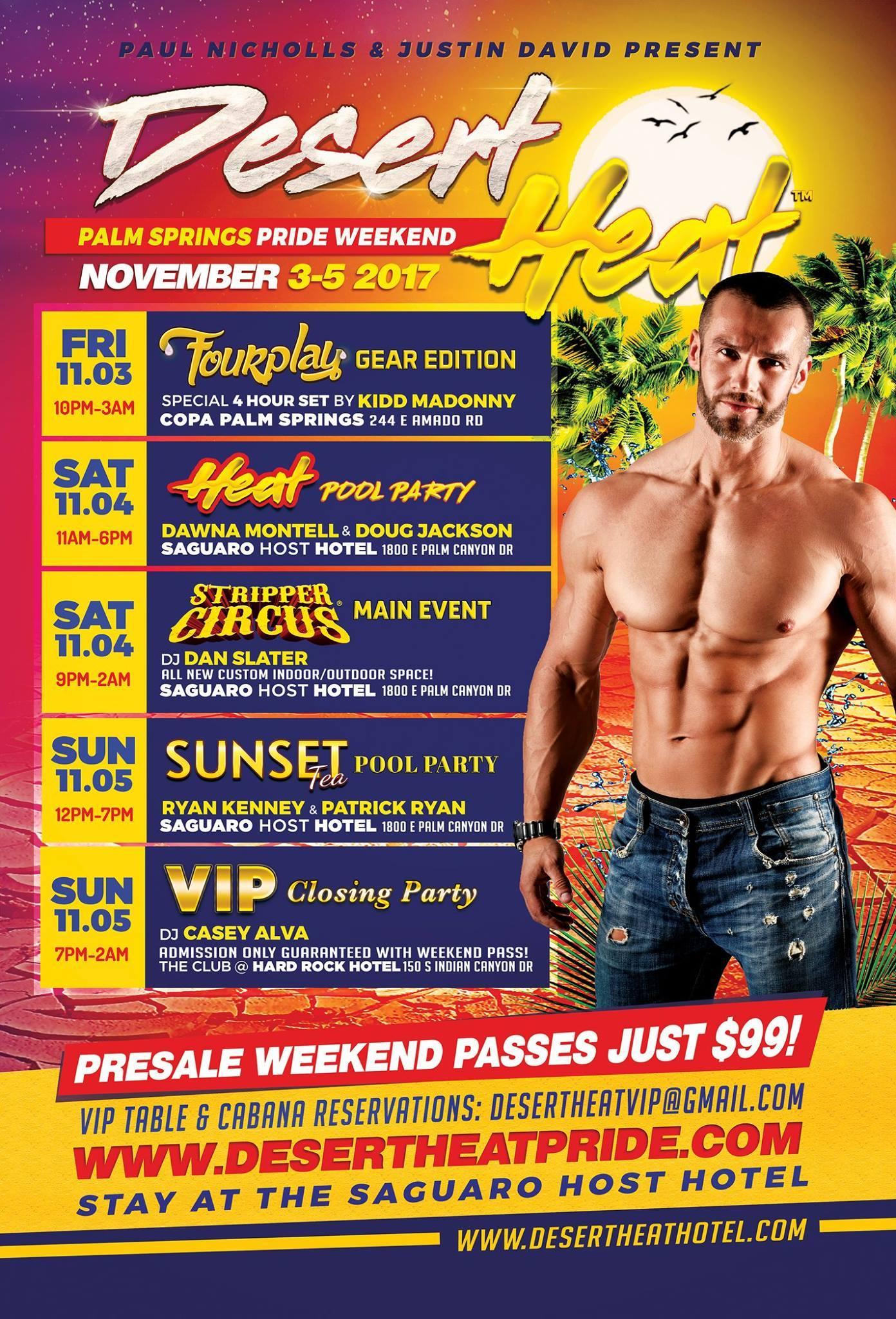 Desert Heat Palm Springs Pride