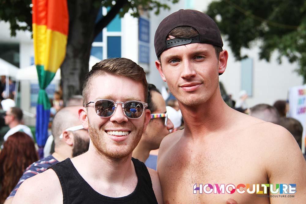 Atlanta Pride 2017 - making new friends