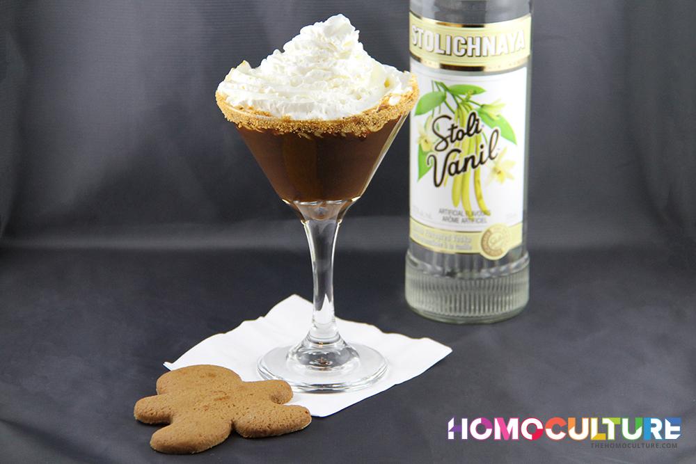Gingerbread Man Martini