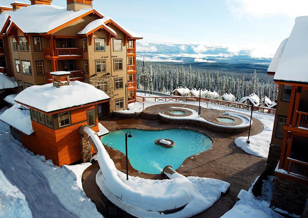 Luxury accommodation at Big White Ski Resort