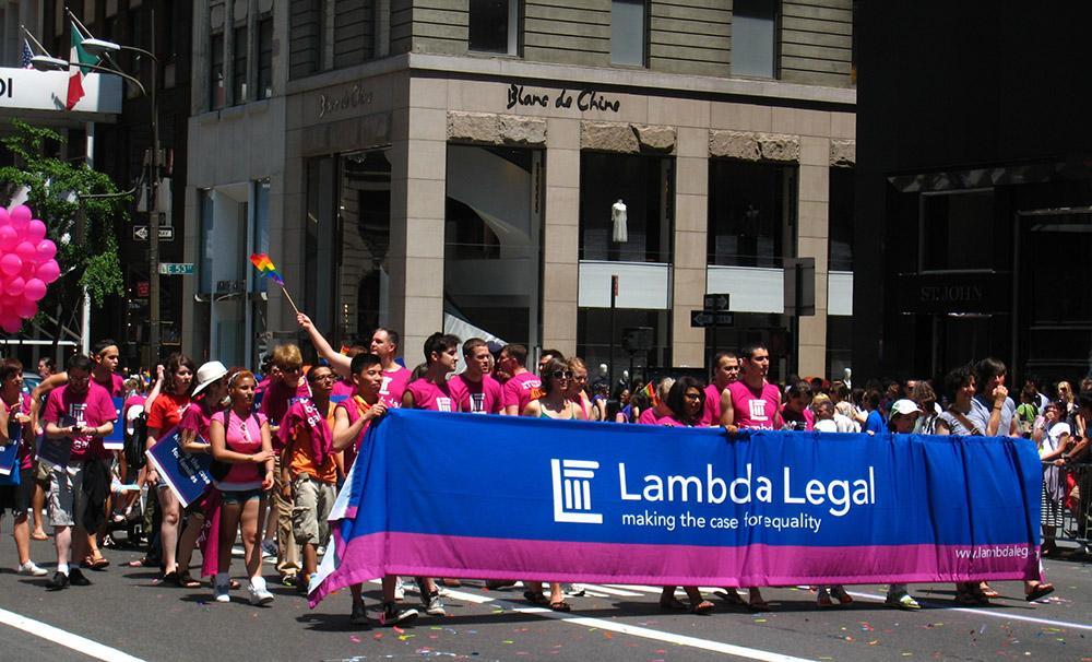 Honoring the 2018 NYC Pride Grand Marshals: Lambda Legal