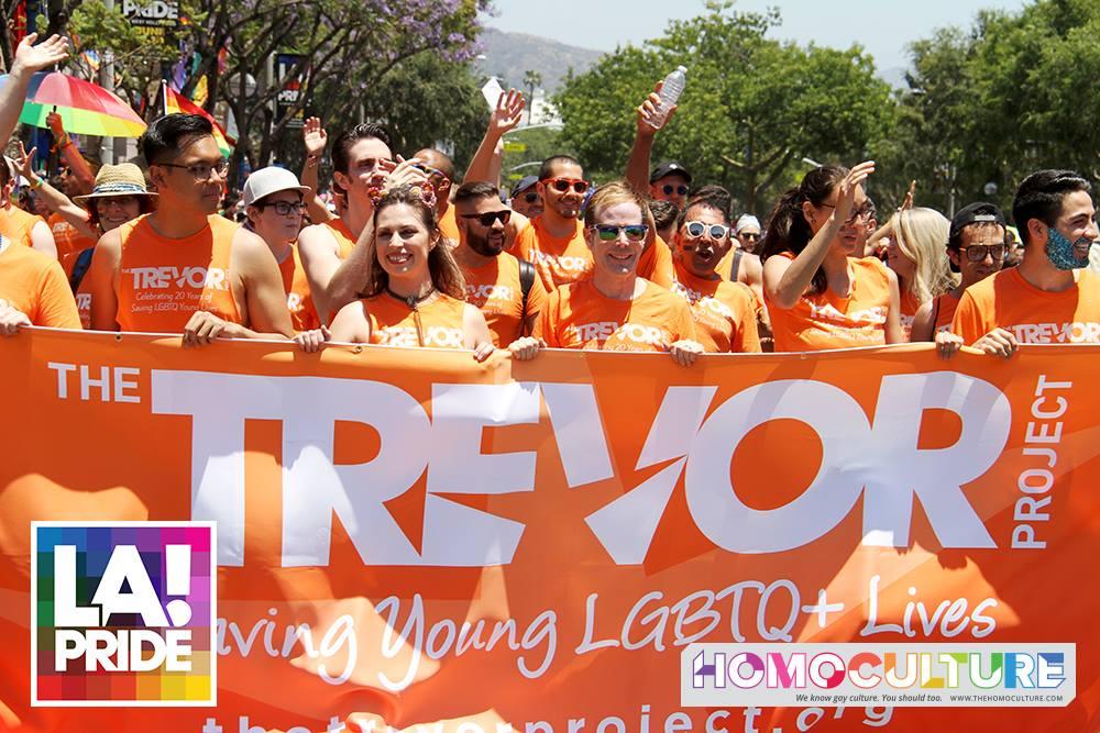 Trevor Project LA Pride Parade 2018