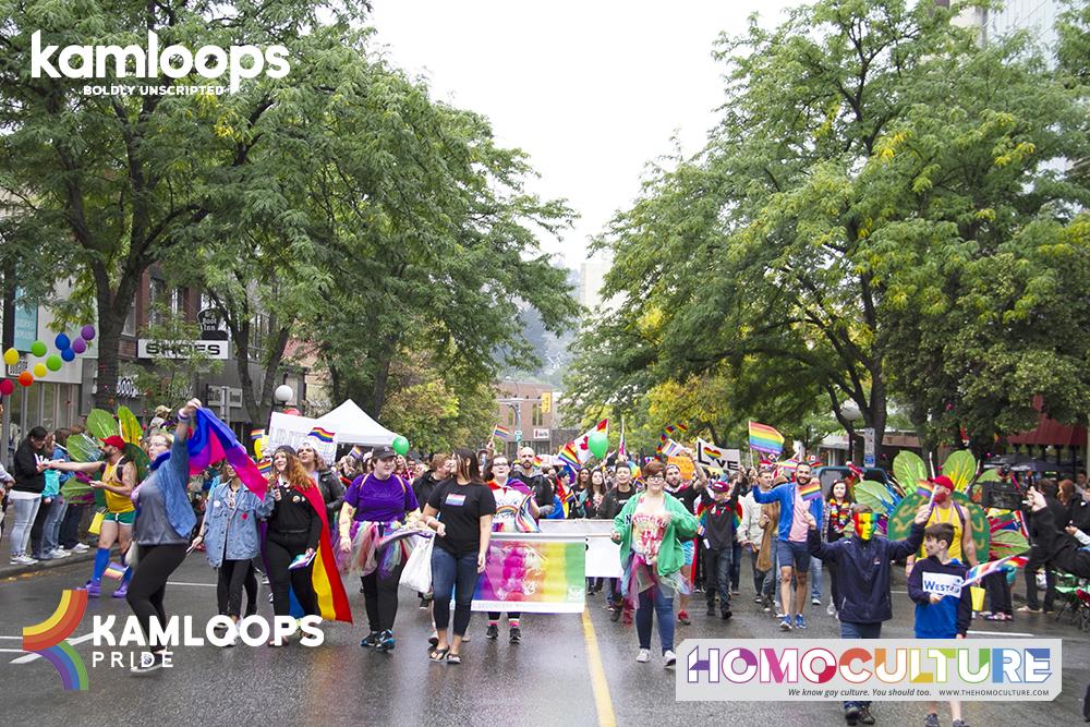 Kamloops Pride 2018: a pride festival with a big heart