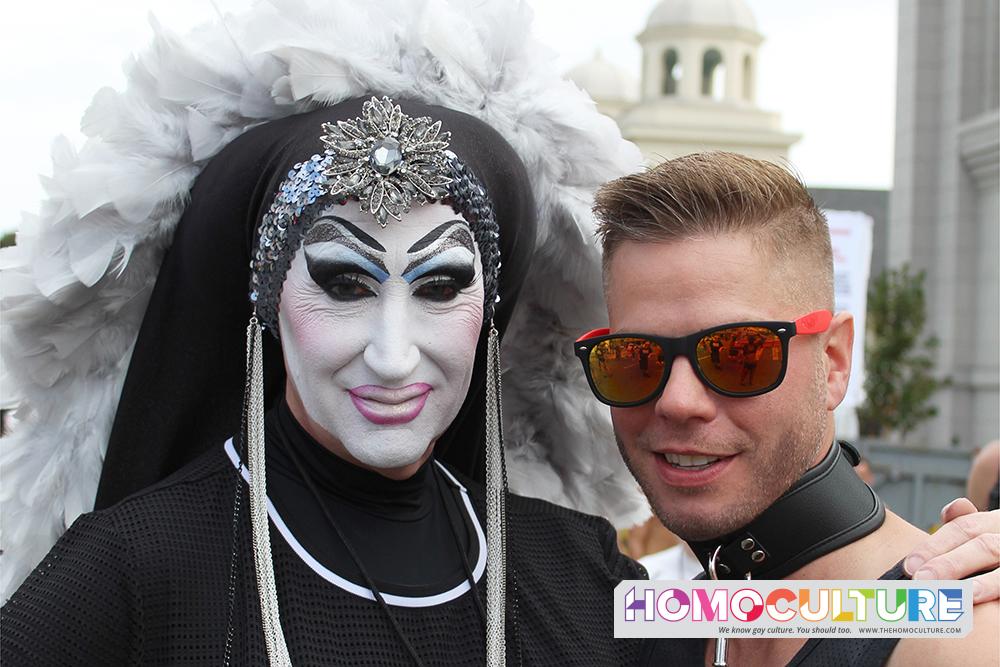 Sister Roma at Folsom Street Fair 2018