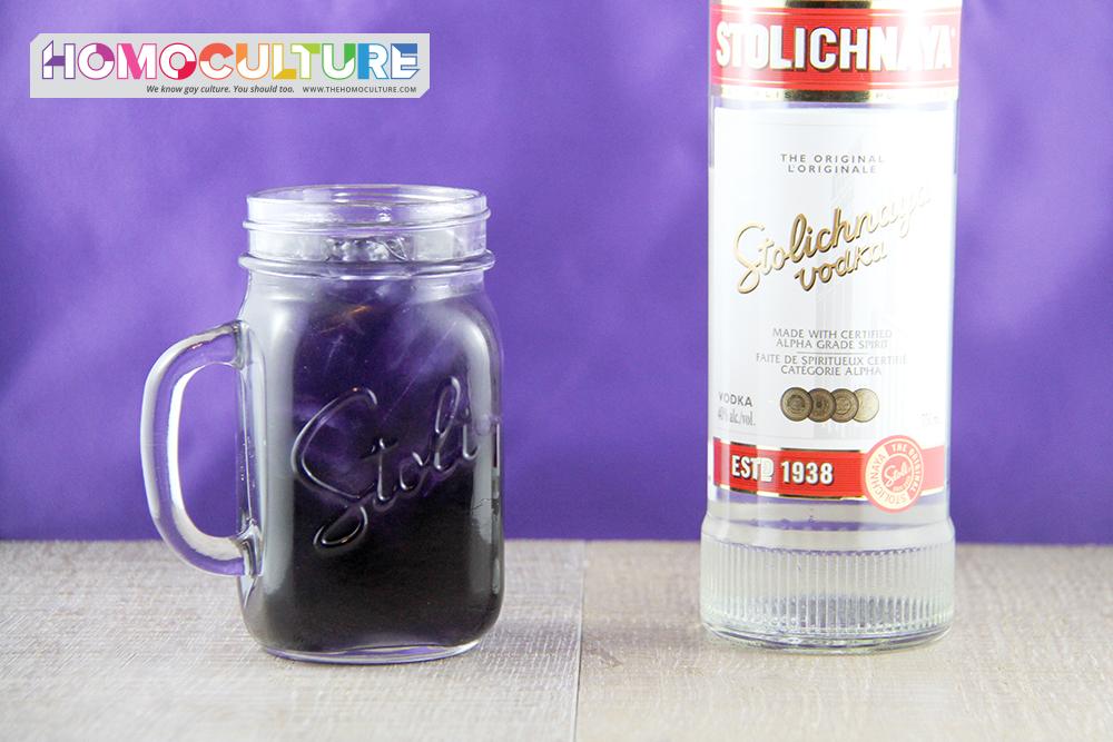Purple People Eater Cocktail