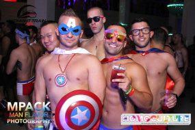 Papa Hero Party Atlanta Pride 2018