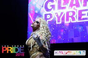 Las Vegas Pride 2018 - Glampyres - Morgan McMichaels